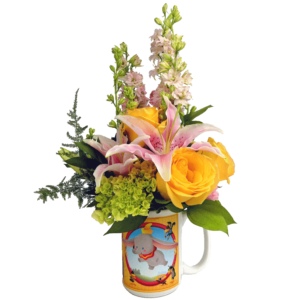 Dumbo Cuties Flower Mug