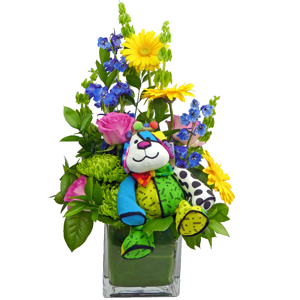How Much Is That Doggie In The Flowers By Karins Florist