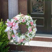 Standing Wreath - Pastel