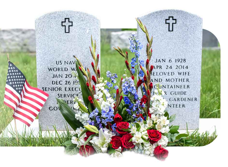 Cemetery Flowers And Tribute Program Karins Florist Official Site