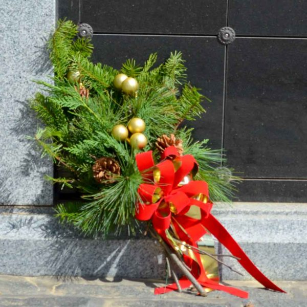 Hand Tied Holiday Bouquet