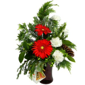 Holiday Cheer Bouquet featuring Ethel M Chocolates