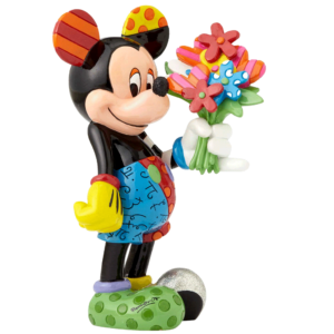 Disney's Mickey Mouse with Flowers Figurine