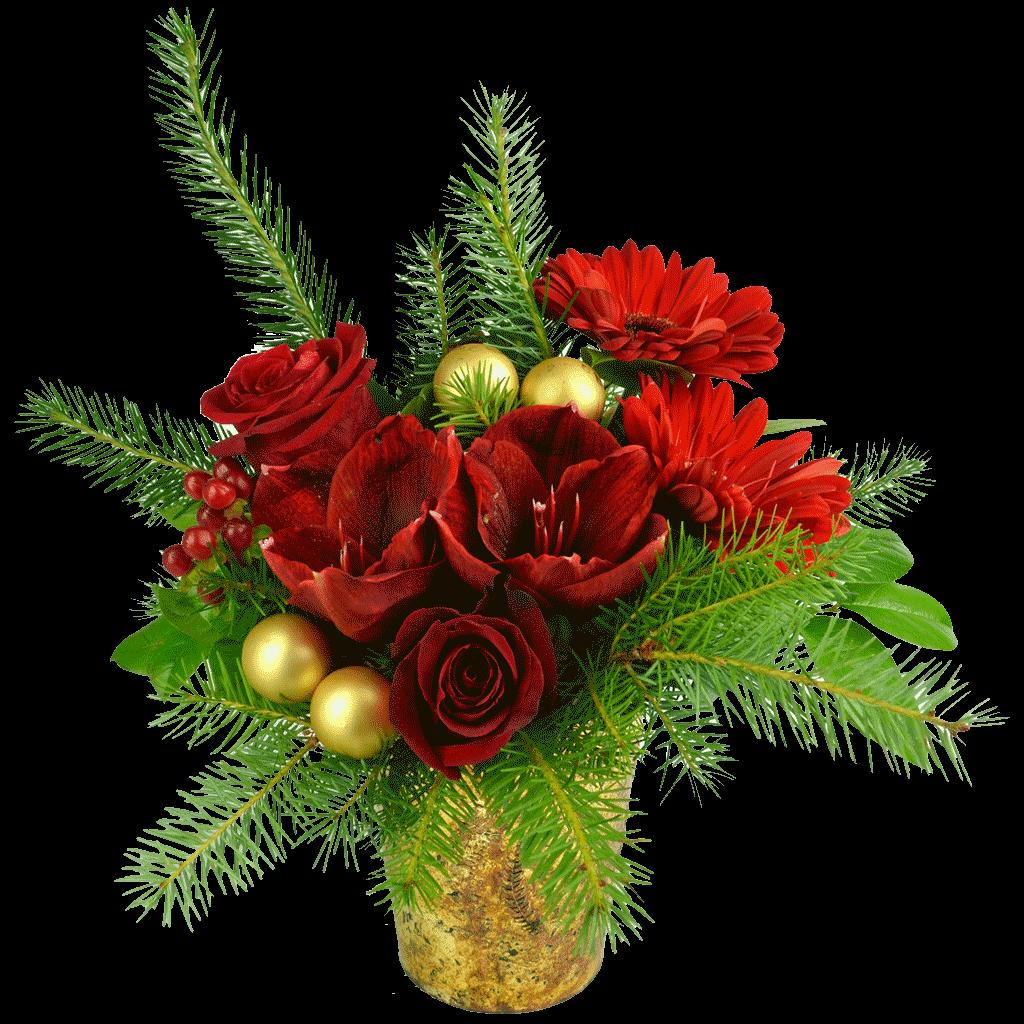 Scarlet Shimmer Bouquet