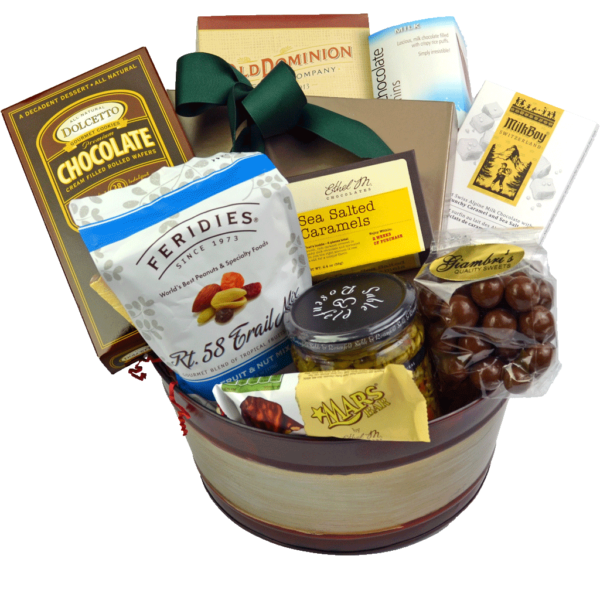Jolly Indulgence Gift Basket