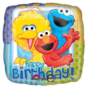 Sesame Street Pals Foil Balloon
