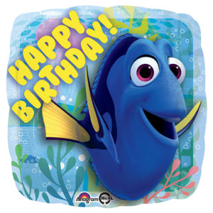 Happy Birthday Dory Foil Balloon