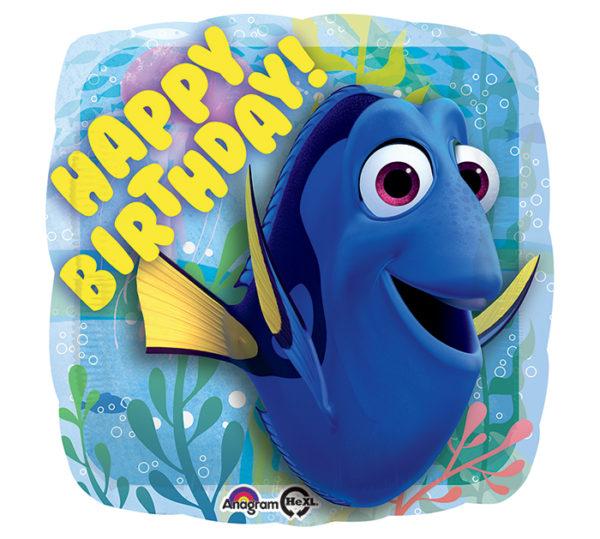 Happy Birthday Dory Foil Balloon