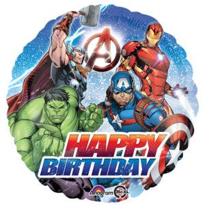 Avengers Happy Birthday Foil Balloon