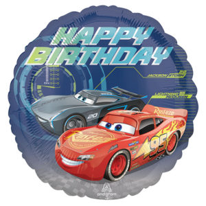 Disney's Cars Happy Birthday Balloon
