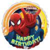 Happy Birthday Spider-man Foil Balloon