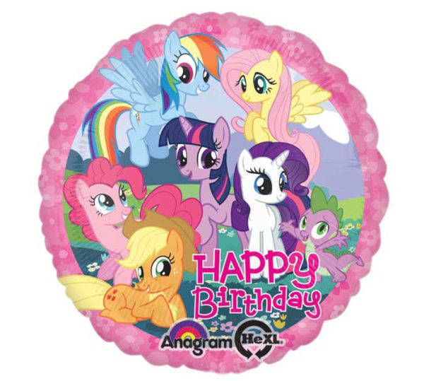 My Little Pony Happy Birthday Foil Balloon