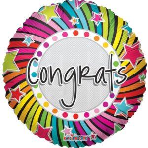 Congratulations Sayings Foil Balloon