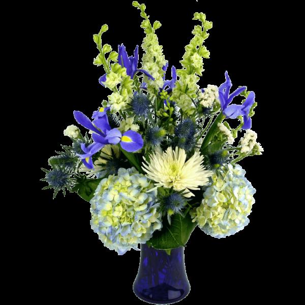 Blue Skies Bouquet