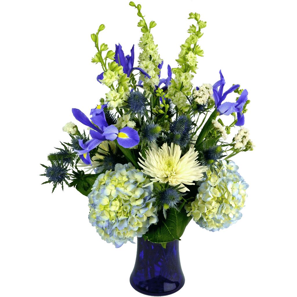 Winter Flower Arrangements designed by Karin\'s Florist