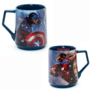 Captain America with Iron Man Flower Mug