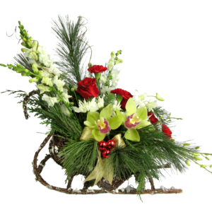 Holiday Sleigh Bouquet