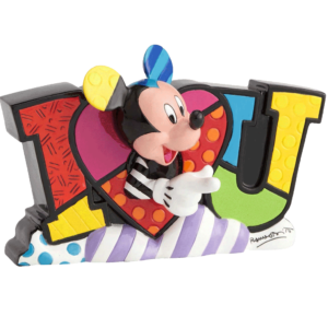 Mickey LOVE Figurine