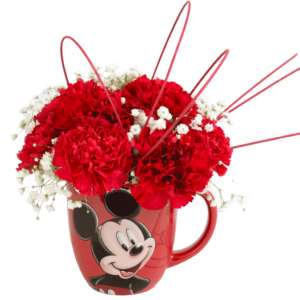 Mickey's Portrait Flower Mug