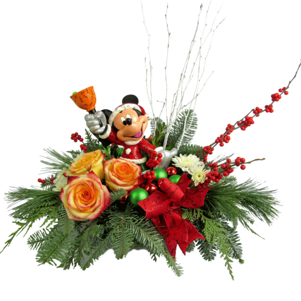 Santa Mickey Bouquet