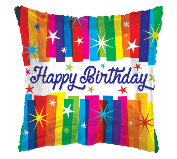 Happy Birthday Bold Foil Balloon