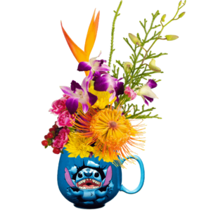 Disney's Stitch Flower Mug