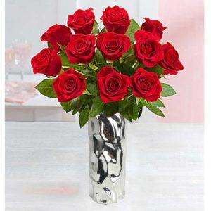 roses-in-silver-vase