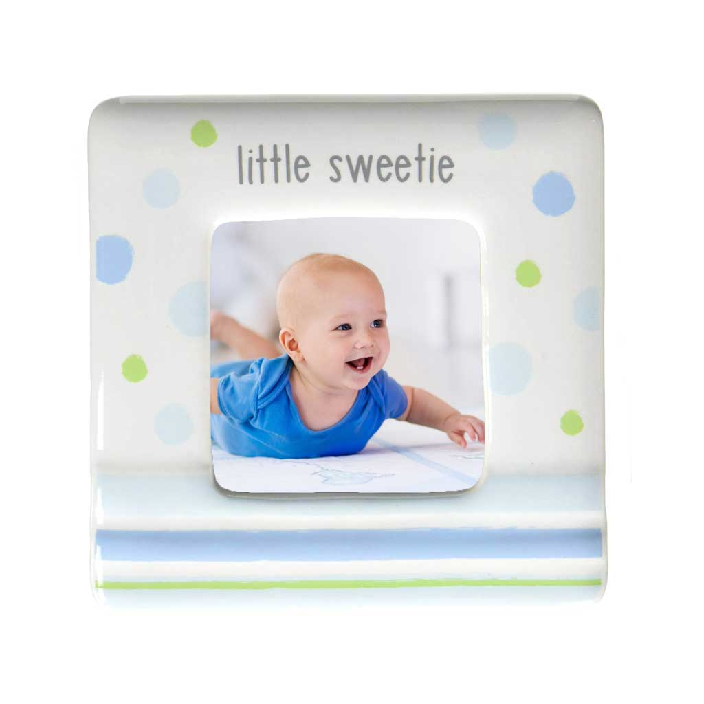Little Sweetie Blue Photo Frame