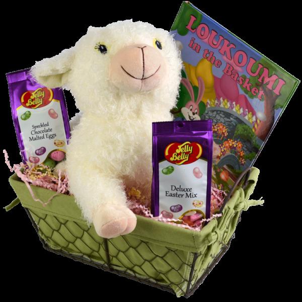 Loukoumi Easter Basket