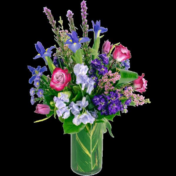 Poetry in Purple Bouquet
