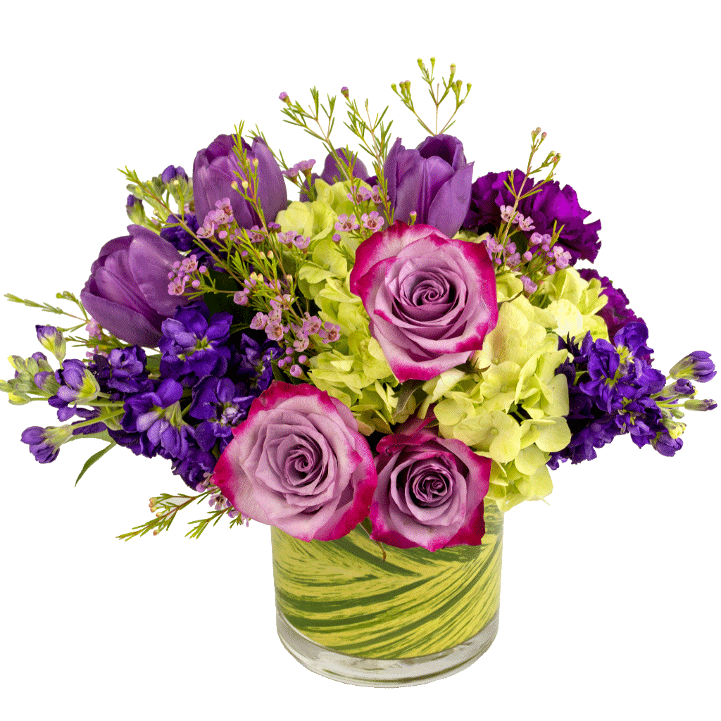 Shades of purple bouquet is designed by karins florist same day shades of purple bouquet izmirmasajfo