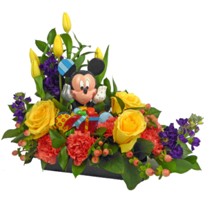Mickey Birthday Wishes Bouquet