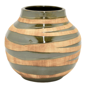 Two Tone Ceramic Decorative Vase
