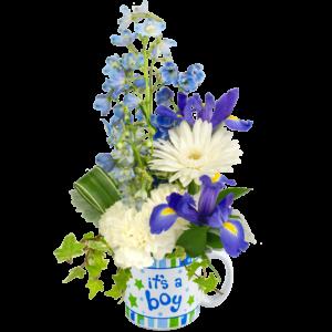 New Baby Boy Bouquet