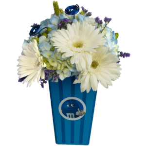 m&m Buttery Blue Bouquet