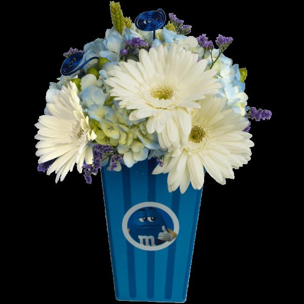 m&m Buttery Blue Bouquet
