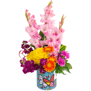 Blissful Britto Bouquet