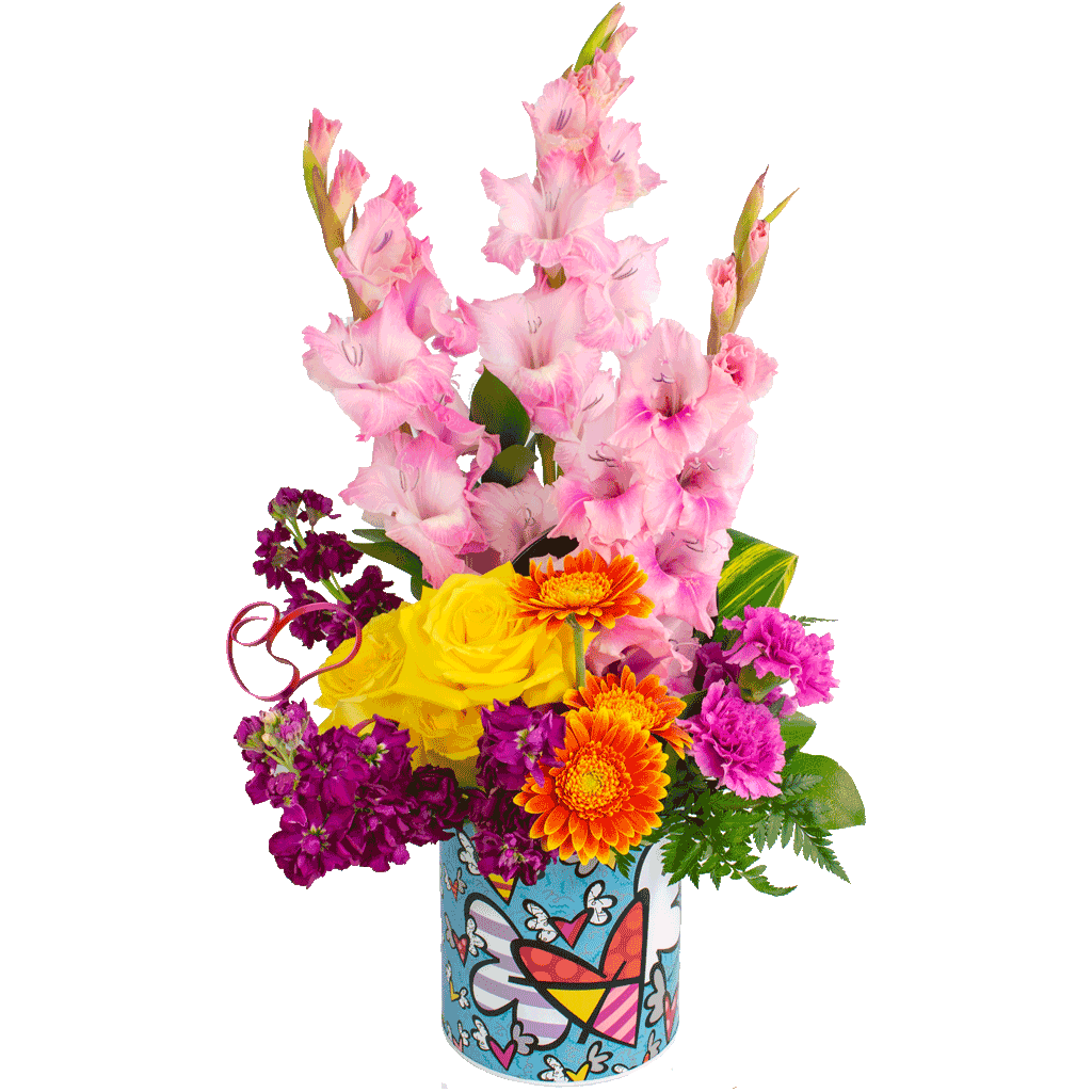 Blissful Britto Bouquet