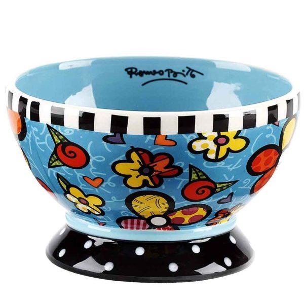 Britto Bowl Bouquet