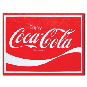ENJOY COCA-COLA 12x16 Canvas Coke Wall Art