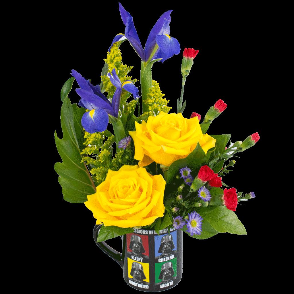 Expressions Of Vader Bouquet Designed By Karins Florist