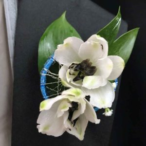 Ballroom Duo Boutonniere