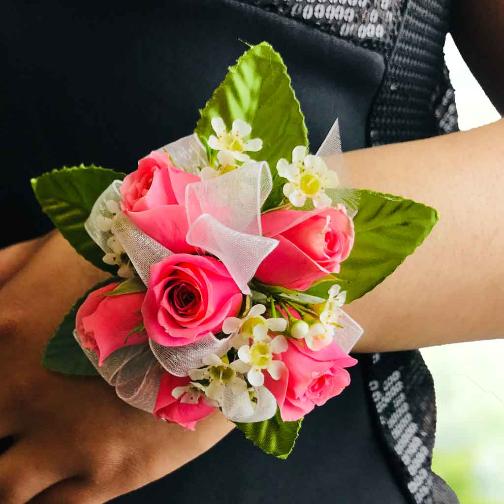 Pretty Princess Corsage Designed By Karins Florist