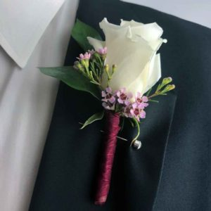 The Heartthrob Boutonniere