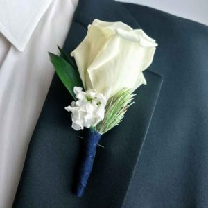 The Suave Gentlemen Boutonniere