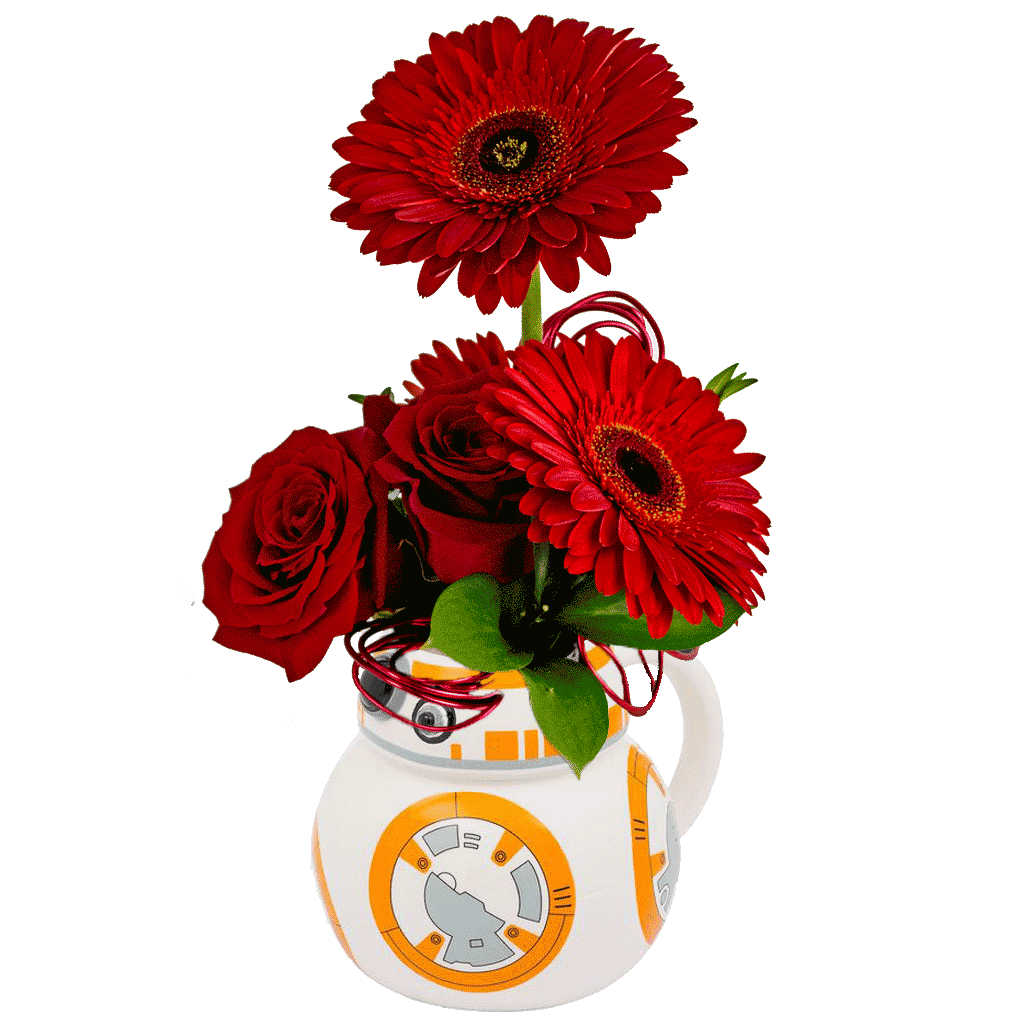 Star Wars BB-8 Flower Mug