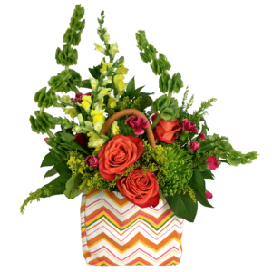 Harvest Tote Bouquet