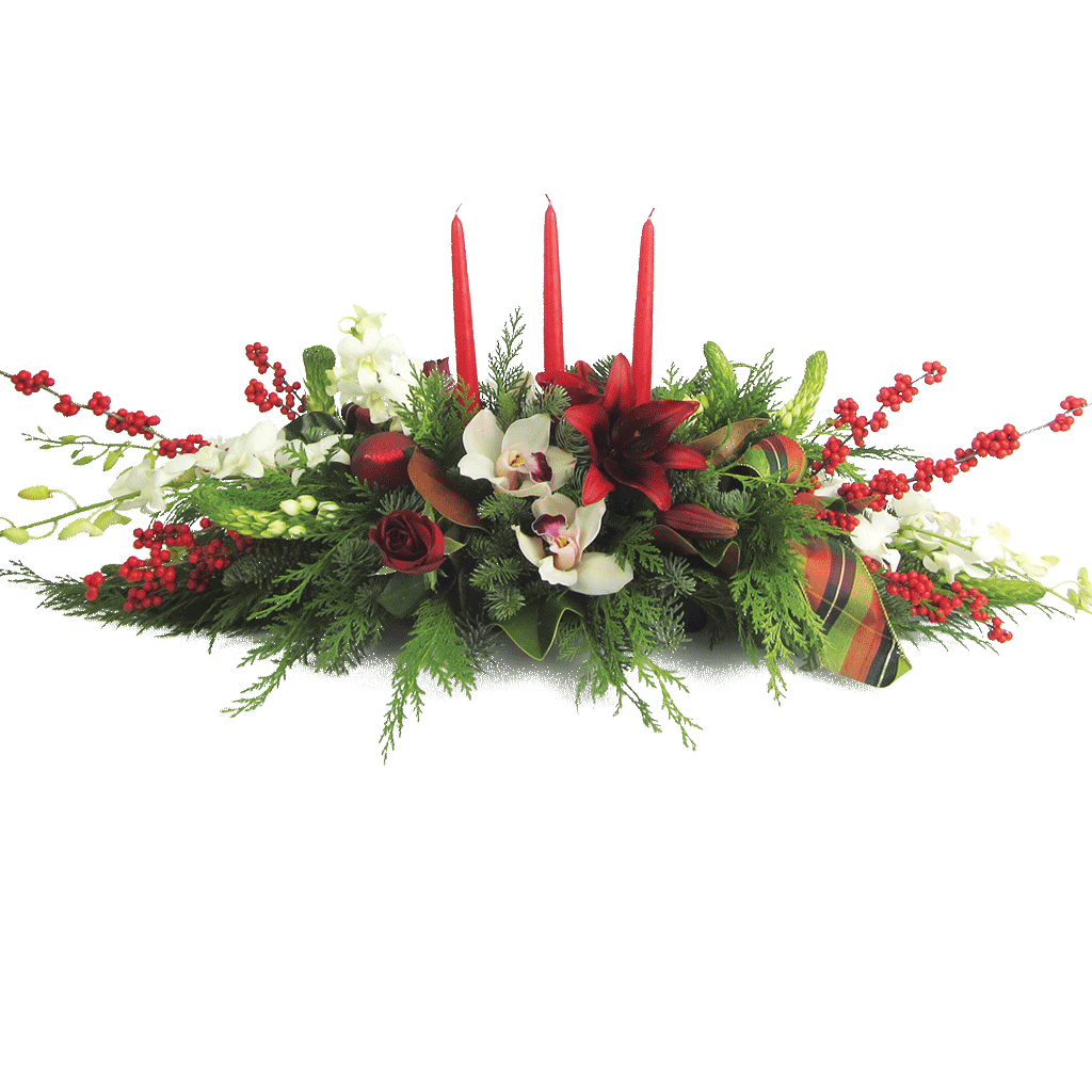 Holiday Gathering Centerpiece Designed By Karin S Florist