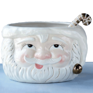 Papa Noel Punch Bowl and Ladle