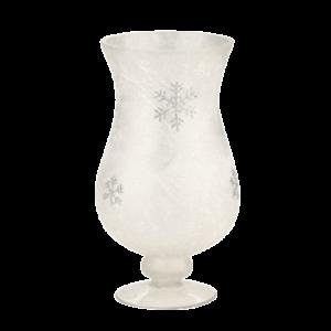 Snowflake Hurricane Vase